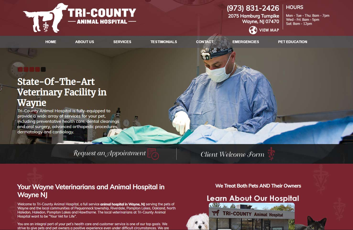 Websites for Veterinarians